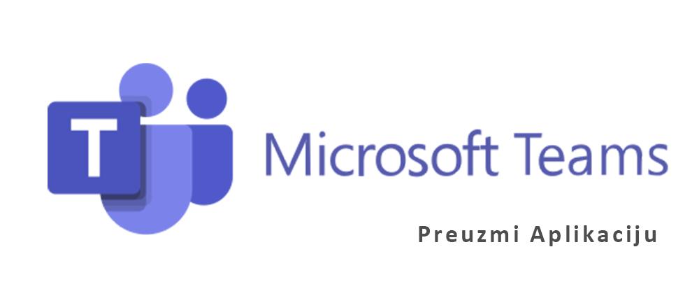 Microsot Teams aplikacija